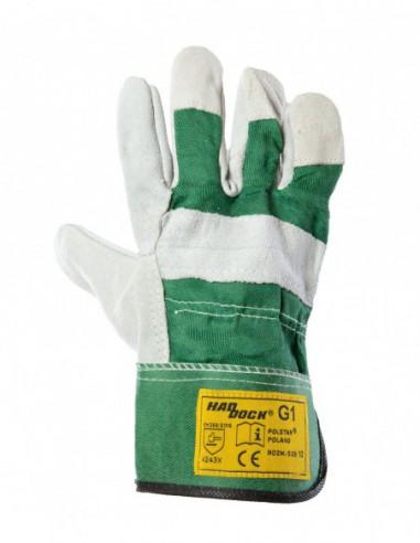 Rękawice robocze skórzane Haddock G1...